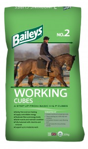 No2 Working Cubes | Baileys Horse Feed