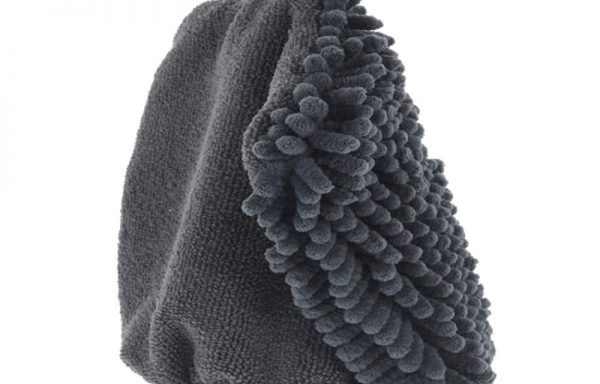 Chenille Microfibre Grooming Glove